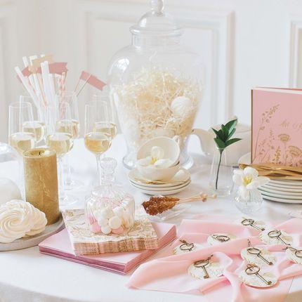 Набор для декора фуршетной зоны Gold Rose