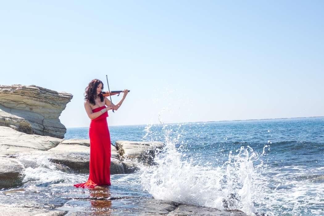скрипачке, море, вода и огонь, белые камни, волны - фото 15306604 Фотограф Альберт Крайчински