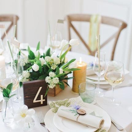 """Оформление столов на 8 гостей """"Botanical garden"""""""