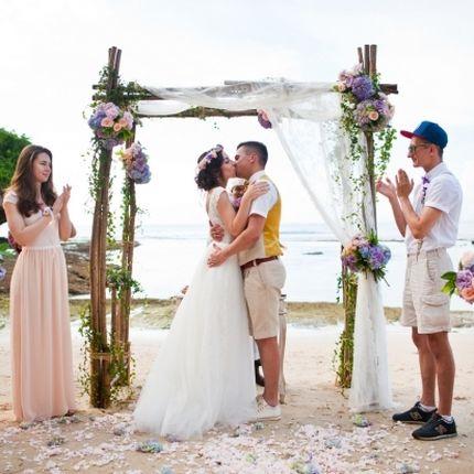 Свадьба на секретном пляже