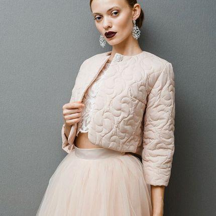 Короткая курточка для невесты