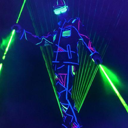 Лазерное шоу Laser man