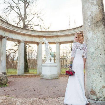 Пробный свадебный образ