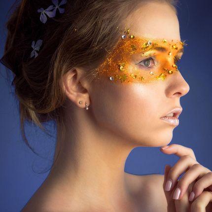 Фантазийный, креативный макияж