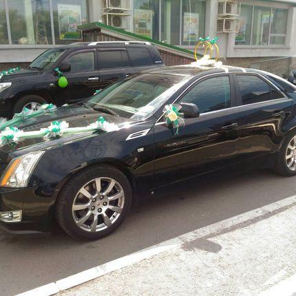 Прокат автомобиля Cadillac CTS с водителем, цена за 1 час.