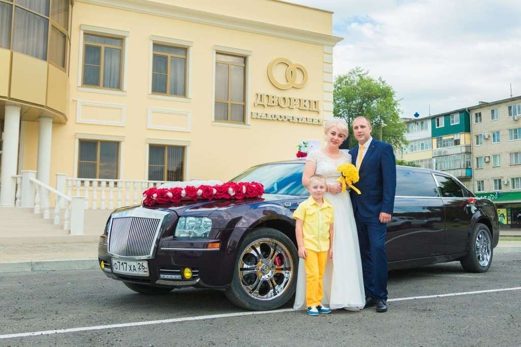 Фото 15632818 в коллекции Свадьба в Невинномысске и по Кочубеевскому району - Vip-Лимузин - салон аренды авто