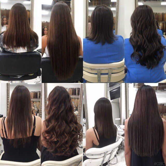 Наращивание волос, цена за 1 прядь