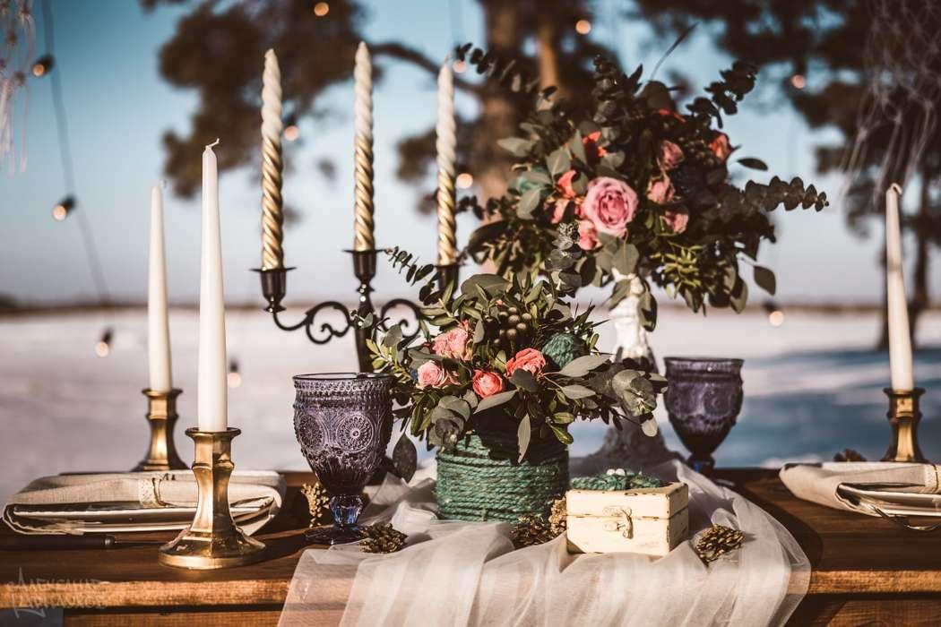 """Фото 17014690 в коллекции Свадебная съемка """"Зимний лес"""" - Студия декора и организации свадьбы """"Just wedding"""""""