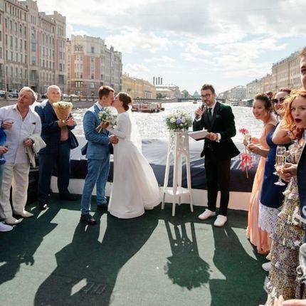 "Организация свадьбы на теплоходе ""под ключ"", цена за человека"