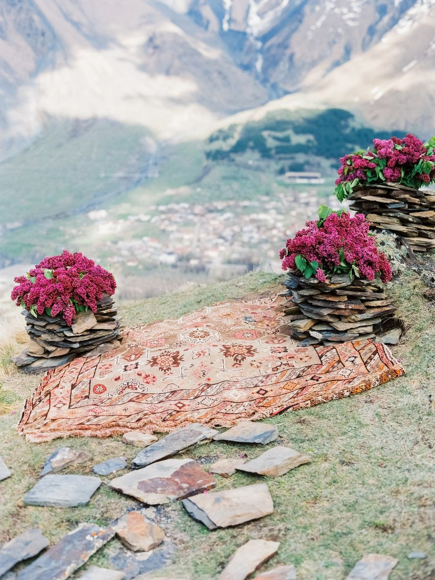 Фото 15727416 в коллекции Свадьба в горах  - Unforgettable moments - студия декора