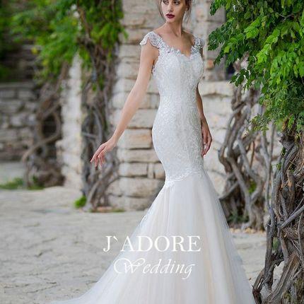 Свадебное платье-рыбка Беверли