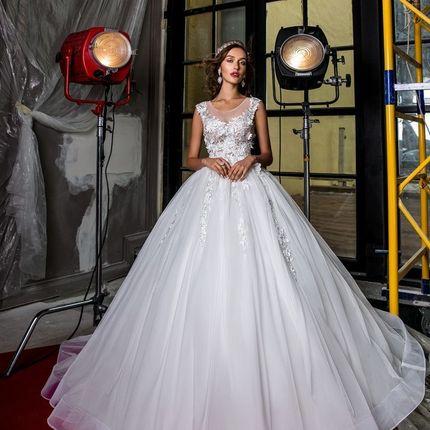 Пышное платье Marsha