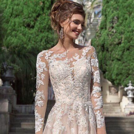Свадебное платье А-силуэта Felicidad