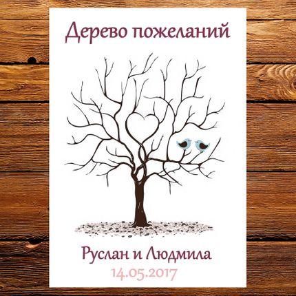 """Дерево пожеланий """"Птицы"""""""