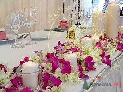Фото 51125 в коллекции Цветы на свадьбе - Лися