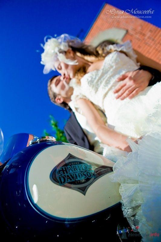 свадьба мотоцикл Харли Дэвидсон - фото 62535 Свадебный фотограф Моисеева Юлия
