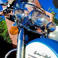 свадьба мотоцикл Харли Дэвидсон