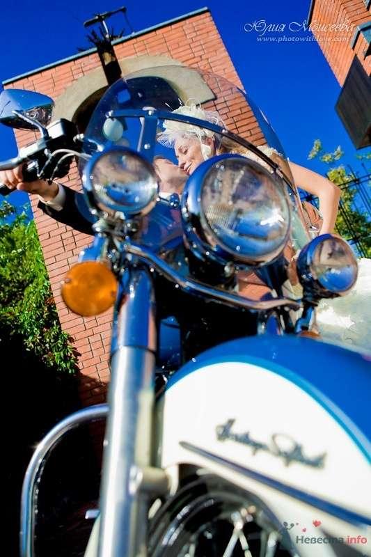 свадьба мотоцикл Харли Дэвидсон - фото 62536 Свадебный фотограф Моисеева Юлия