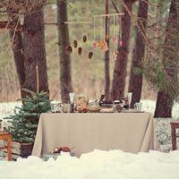 Свадьба в лесу...