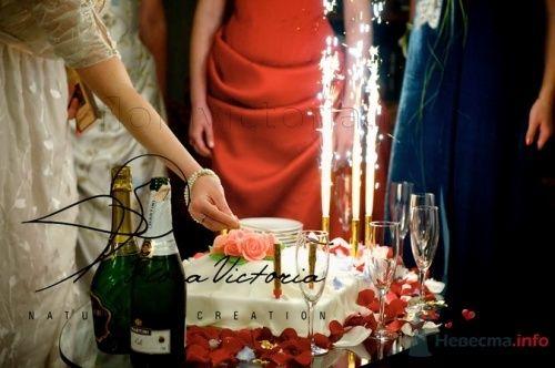 Искраметный десерт - фото 1346 Cвадебная флористика и декор событий FloraVictoria
