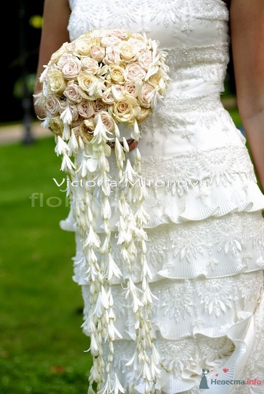 Букет невесты - фото 29444 Cвадебная флористика и декор событий FloraVictoria