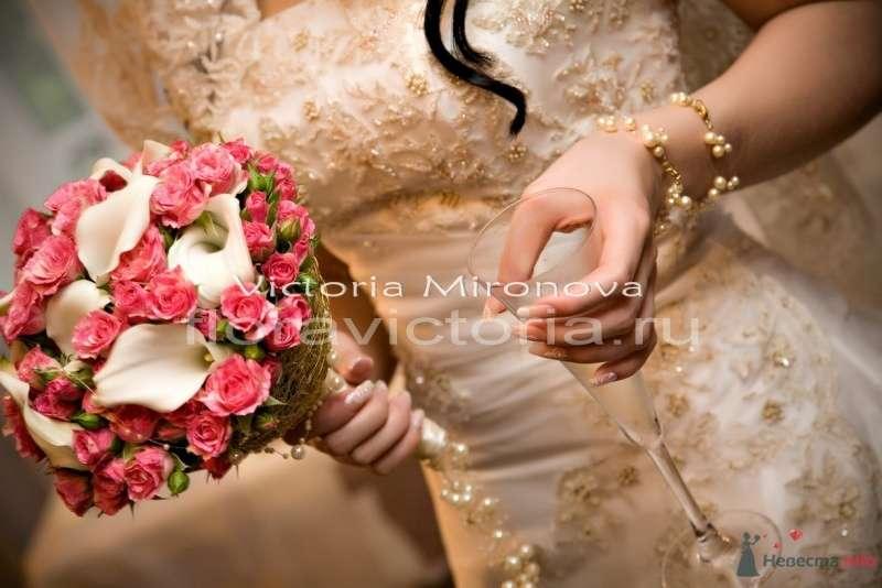Свадебный букет - фото 29447 Cвадебная флористика и декор событий FloraVictoria
