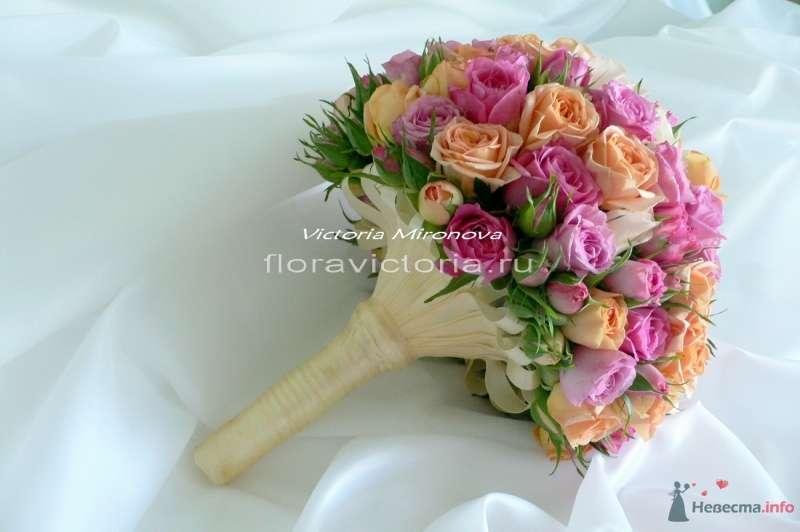 Букет невесты - фото 36290 Cвадебная флористика и декор событий FloraVictoria