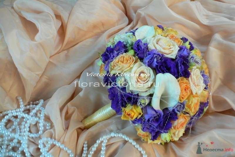 Букет невесты - фото 36293 Cвадебная флористика и декор событий FloraVictoria
