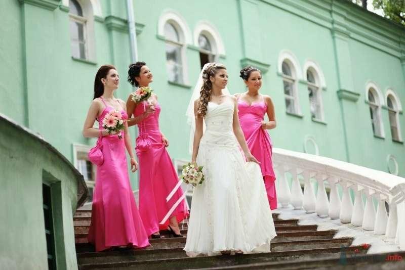 Невеста и её подружки в розовом атласе - фото 52998 AngeLady
