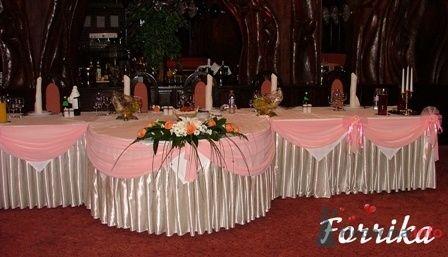 Декор тканью и бантами - фото 2856 Невеста01