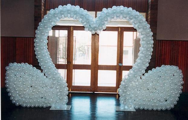 Фото 1007733 в коллекции Оформление залов воздушными шарами - Праздник-проказник - проведение свадьбы
