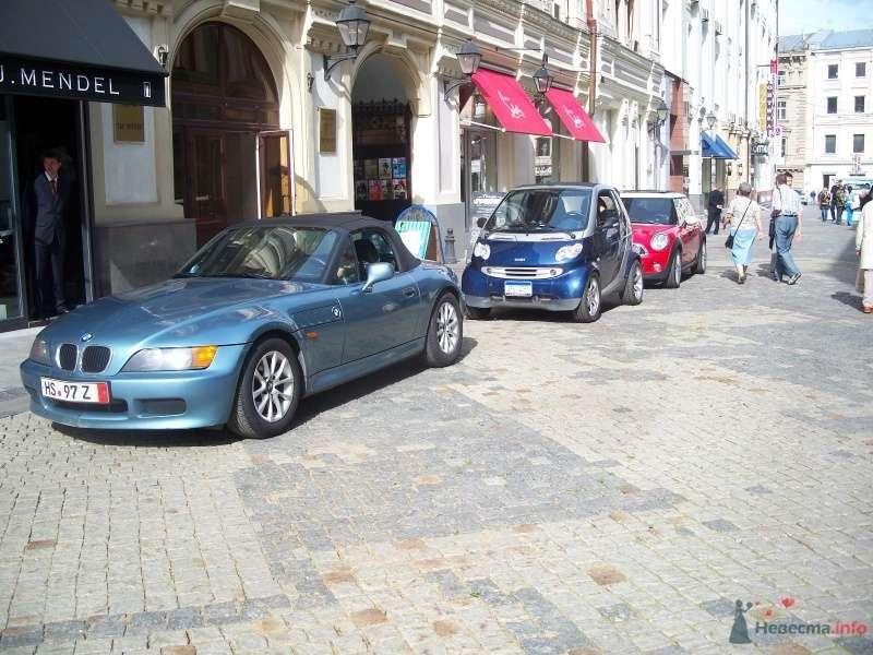Фото 40846 в коллекции Наши авто в рекламе - Smartnaprokat - свадебный кортеж