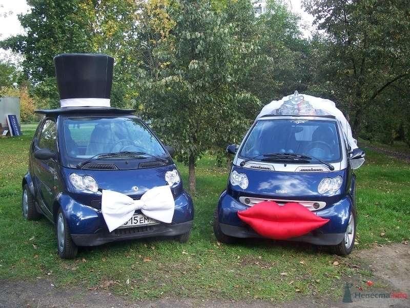 Фото 43560 в коллекции Свадьба на синих смартах..... - Smartnaprokat - свадебный кортеж