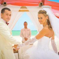 Церемония на пляже Доминиканы