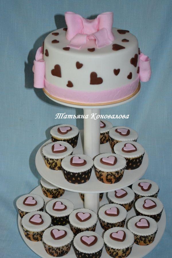 """Фото 1506047 в коллекции Мои свадебные торты - Студия торта """"Сахарная пудра"""""""