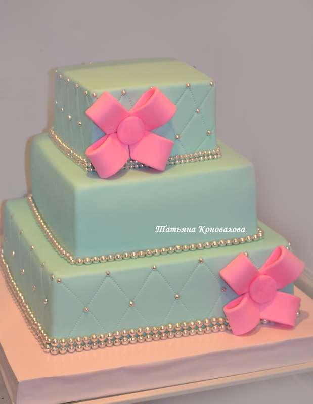 """Фото 2498681 в коллекции Мои свадебные торты - Студия торта """"Сахарная пудра"""""""