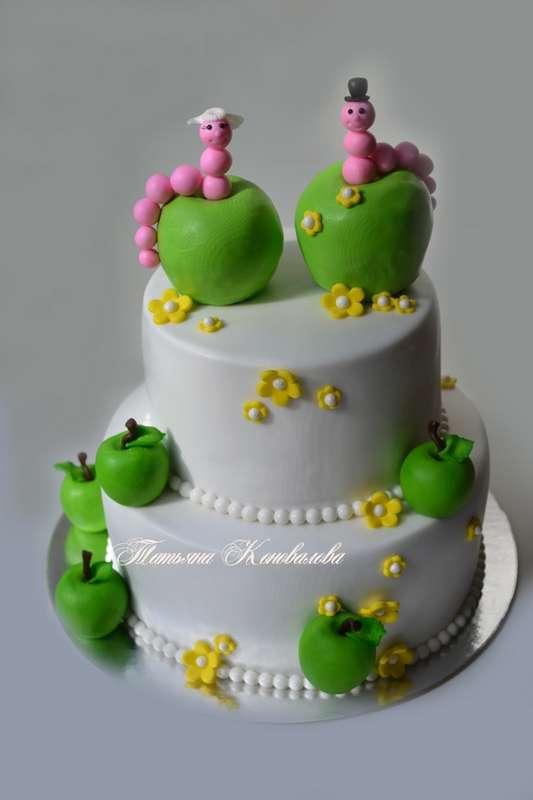 """Фото 2722763 в коллекции Мои свадебные торты - Студия торта """"Сахарная пудра"""""""
