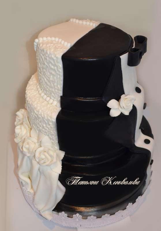 """Фото 2831311 в коллекции Мои свадебные торты - Студия торта """"Сахарная пудра"""""""