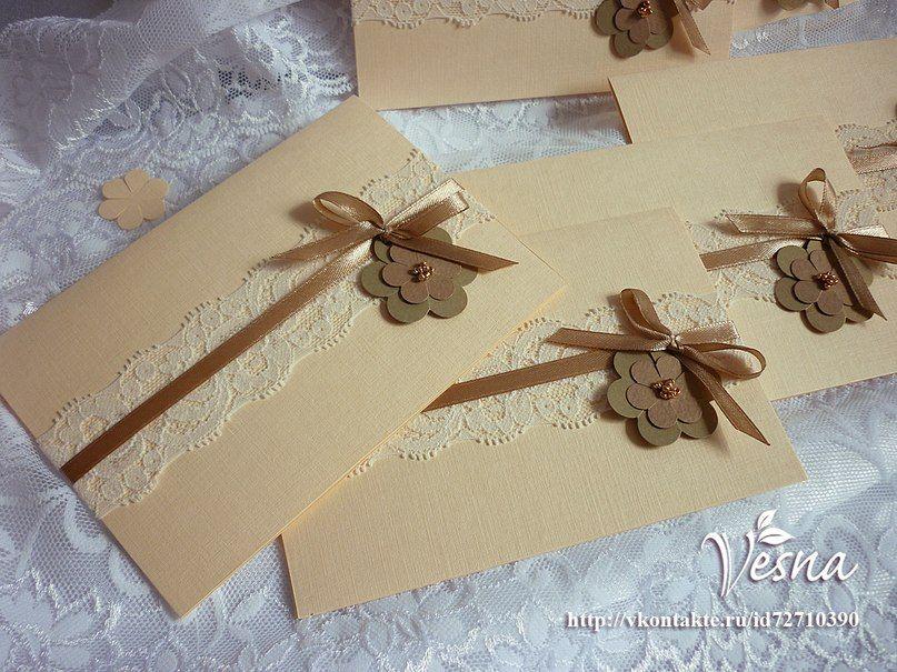Фото 523008 в коллекции Приглашения - Vesna-Art - аксессуары для свадьбы