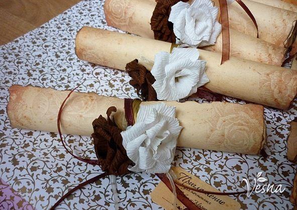 Фото 523013 в коллекции Приглашения - Vesna-Art - аксессуары для свадьбы