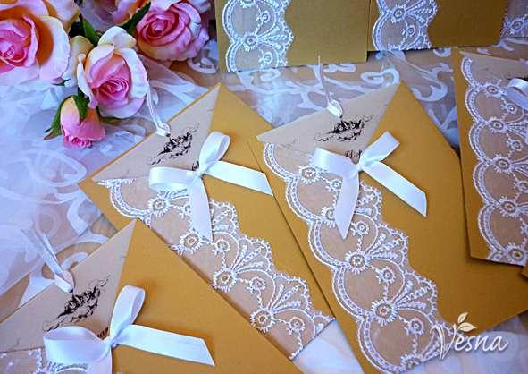 Фото 523026 в коллекции Приглашения - Vesna-Art - аксессуары для свадьбы