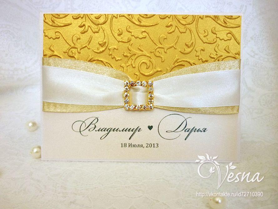 Фото 2459363 в коллекции Приглашения - Vesna-Art - аксессуары для свадьбы