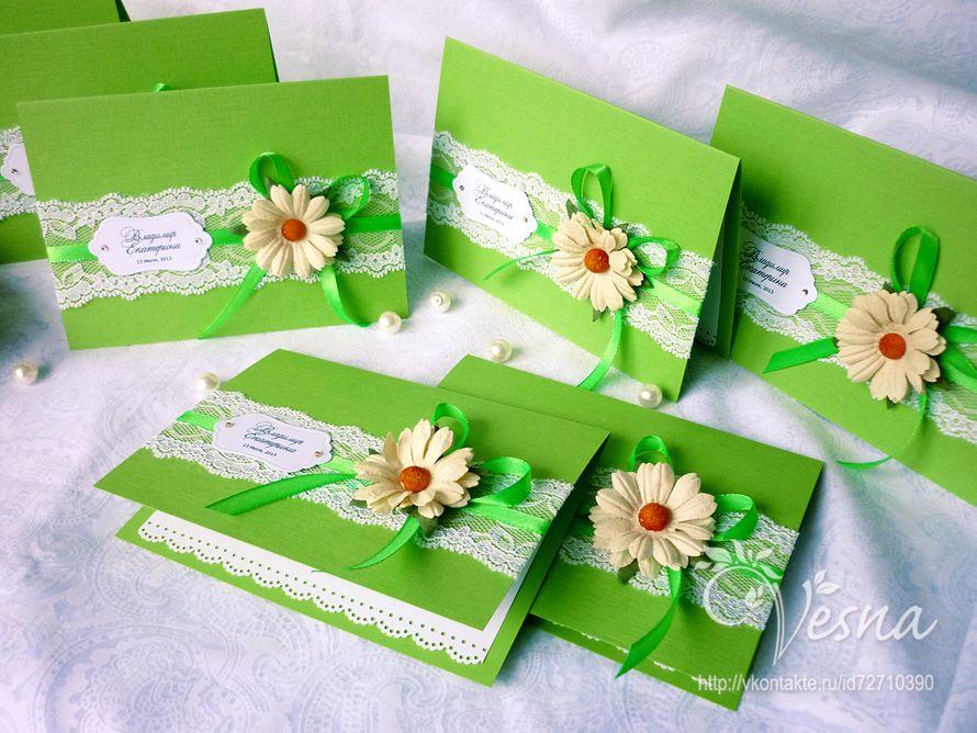 Фото 2459375 в коллекции Приглашения - Vesna-Art - аксессуары для свадьбы