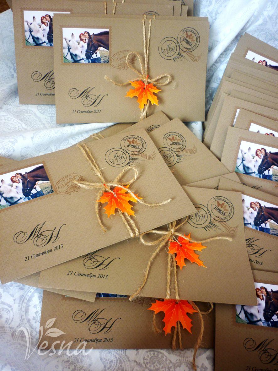 Фото 2459429 в коллекции Приглашения - Vesna-Art - аксессуары для свадьбы