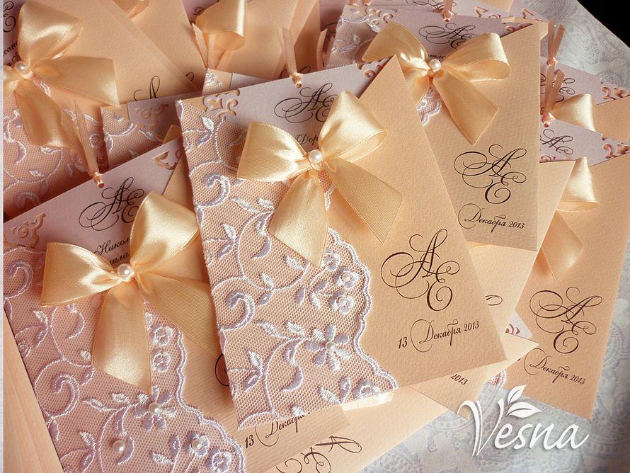 Фото 2459465 в коллекции Приглашения - Vesna-Art - аксессуары для свадьбы