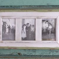 Старые фотографии в оформлении интерьера в стиле Шебби-шик