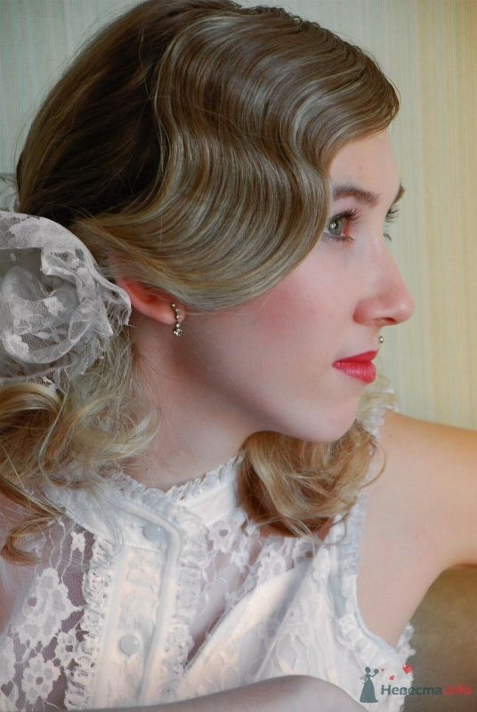 причёска с элементами холодной укладки - фото 67069 Свадебный стилист Татьяна Мартынова