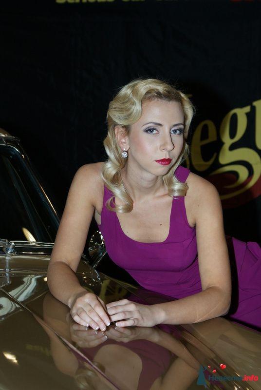 Прическа в стиле ретро - фото 85419 Свадебный стилист Татьяна Мартынова
