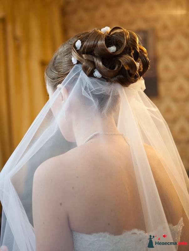 свадебная причёска из волос средней длинны - фото 85433 Свадебный стилист Татьяна Мартынова
