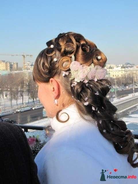 свадебная причёска  из длинных волос - фото 85463 Свадебный стилист Татьяна Мартынова
